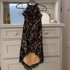 LF brand Dream State HiLow lace dress XS NWT